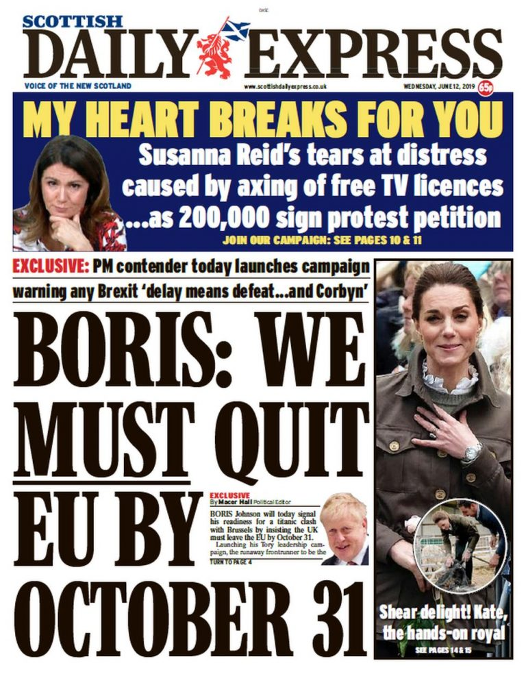 News Daily: Boris Brexit speech and actress quits Oxfam