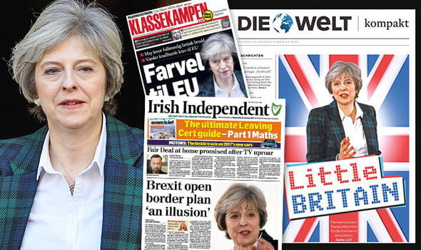 Newspaper headlines: Brexit warnings for Theresa May