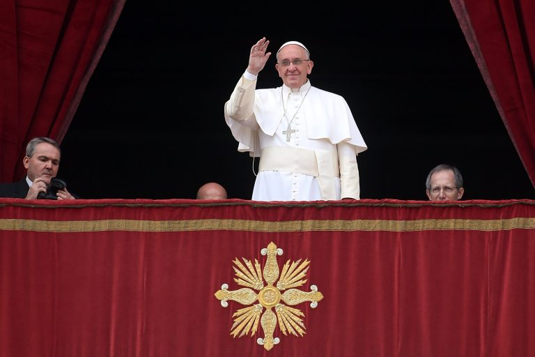 On Christmas Day, Pope Francis Prays for Peace in an Uneasy World