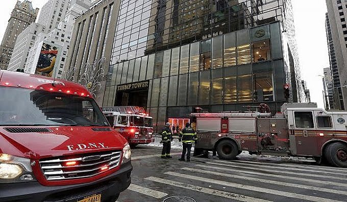One seriously injured in Trump Tower fire