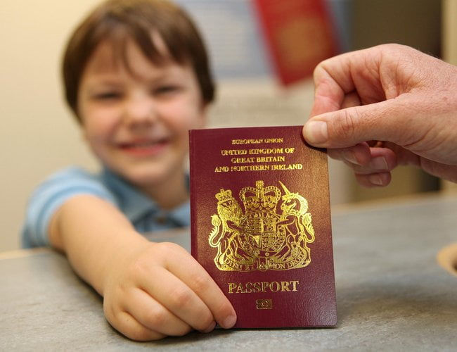 Passport costs set to rise by up to 27%