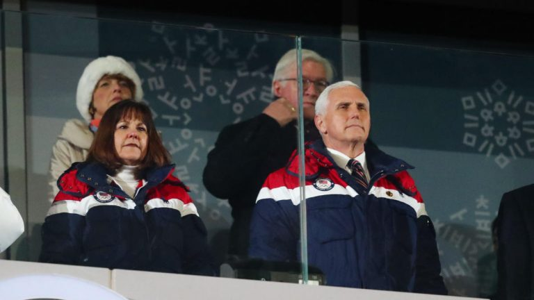 Pence Won't Rule Out Meeting North Koreans at Olympics