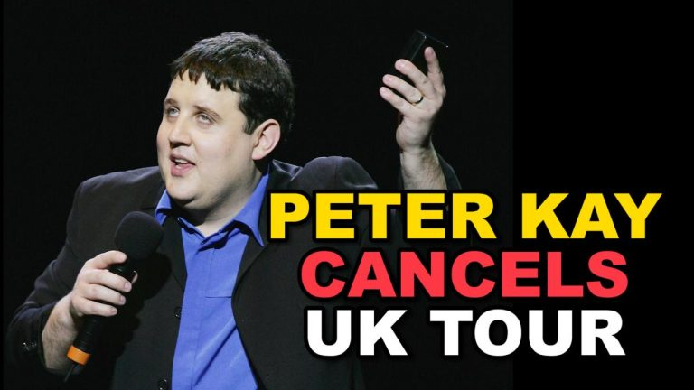 Peter Kay cancels first tour in eight years