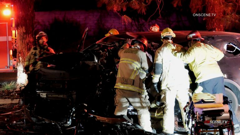 Police officer and woman die in car crash