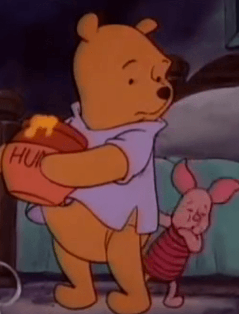 Quiz: Where is Winnie the Pooh in trouble?