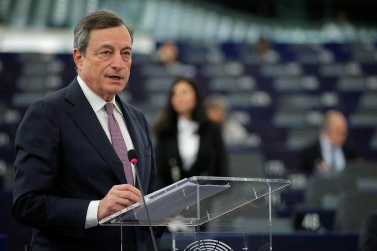 Regulate Bitcoin? 'Not The ECB's Responsibility,' Says Mario Draghi