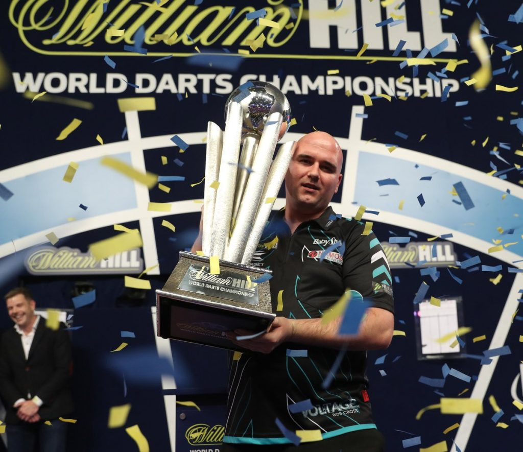Rob Cross: From £7 prize to £400,000 world darts champion