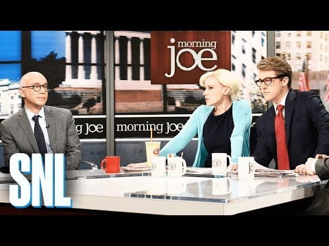 'SNL' puts Bannon, Wolff, Joe, and Mika at one table