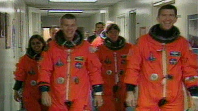Space shuttle Columbia crew, who never came back