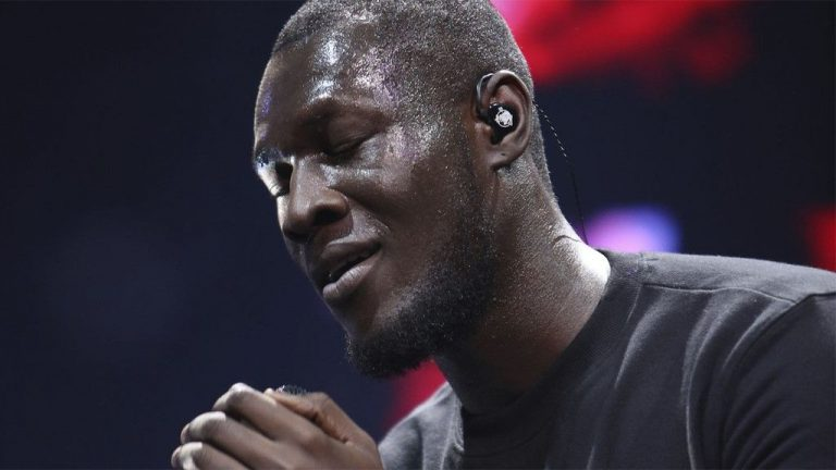 Stormzy sings at funeral of fan's father