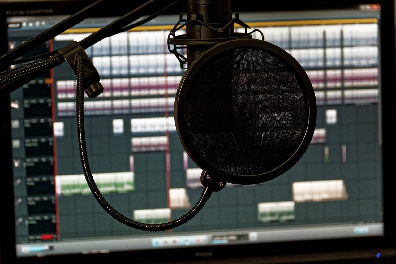 Basic elements of a music recording studio