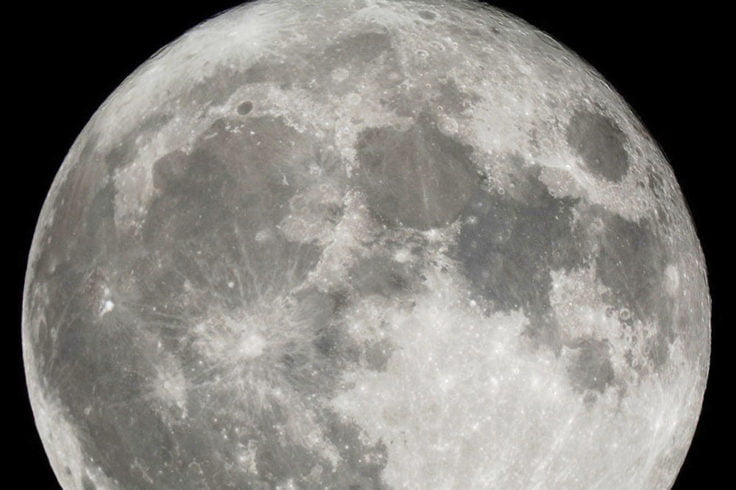 Supermoon gets 2018 off to big, bright start