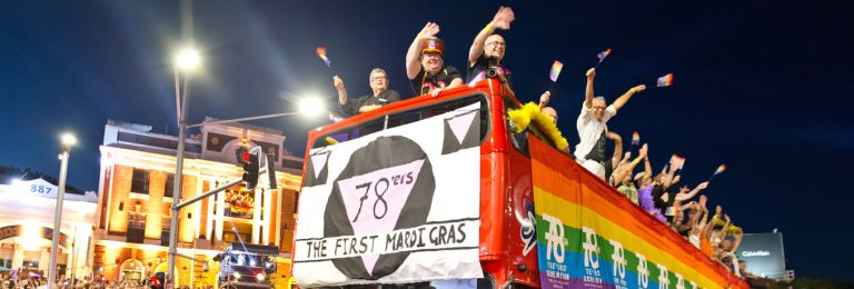 Sydney stages 40th anniversary Gay and Lesbian Mardi Gras