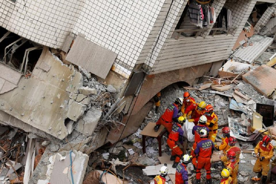 Taiwan Earthquake Toll Rises, With Many Missing