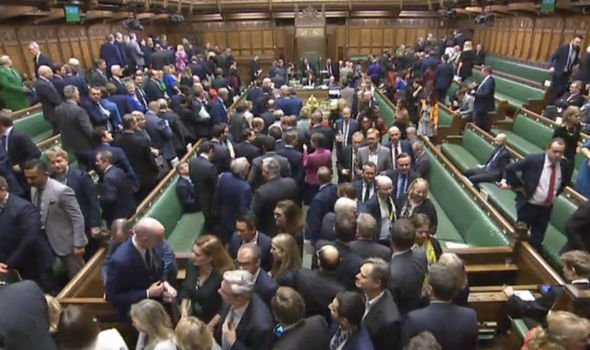 The moment defeat on Brexit vote was announced