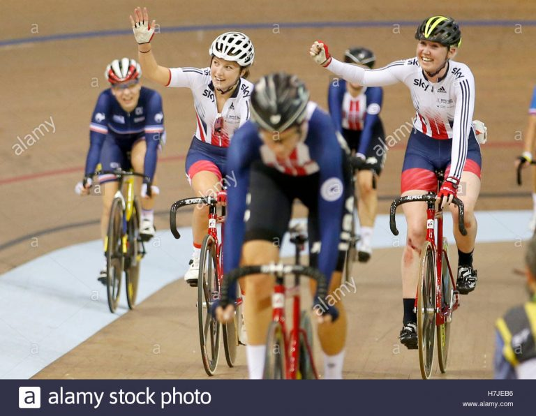 Track Cycling World Championships: Katie Archibald & Emily Nelson win madison gold