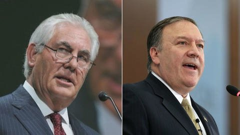 Trump Fires Rex Tillerson, Will Replace Him With C.I.A. Chief Pompeo