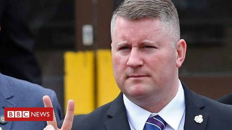 U.K. Police Detain Paul Golding of Far-Right Group Britain First