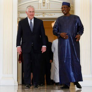 U.S. May Lift Ban on Travelers From Chad, Tillerson Says