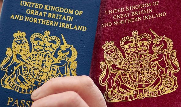 UK passports: 'The blue belongs to us' after Brexit