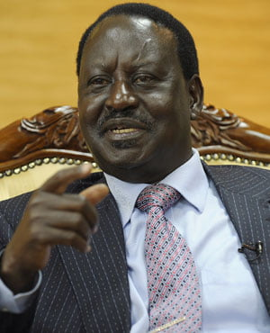 Why did Kenya's Raila Odinga 'inaugurate' himself as president?