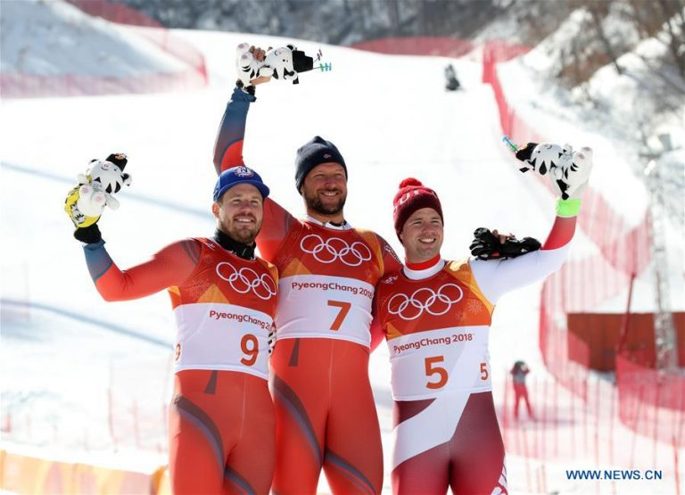 Winter Olympic 2018s: Aksel Lund Svindal wins men's downhill gold