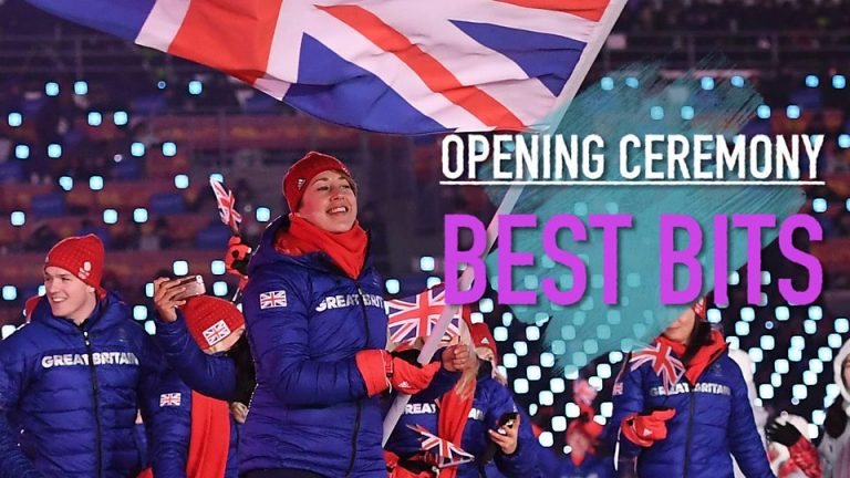 Winter Olympics 2018: The best bits from the opening ceremony
