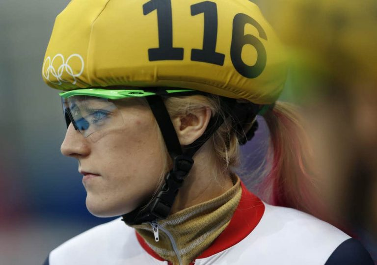 Winter Olympics: Elise Christie disqualified from short track 1000m heat