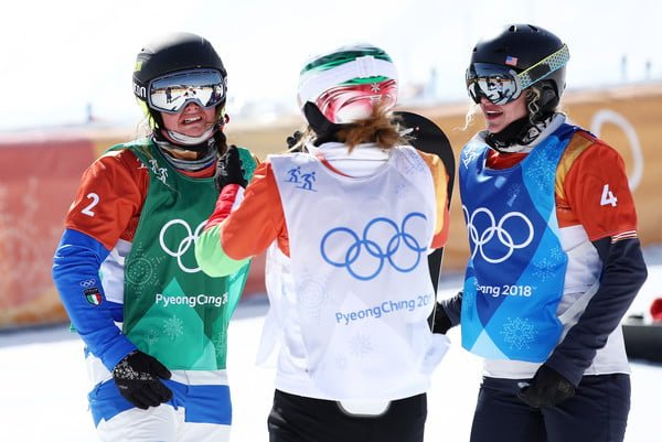 Winter Olympics: Italy's Michela Moioli wins gold in women's snowboard cross