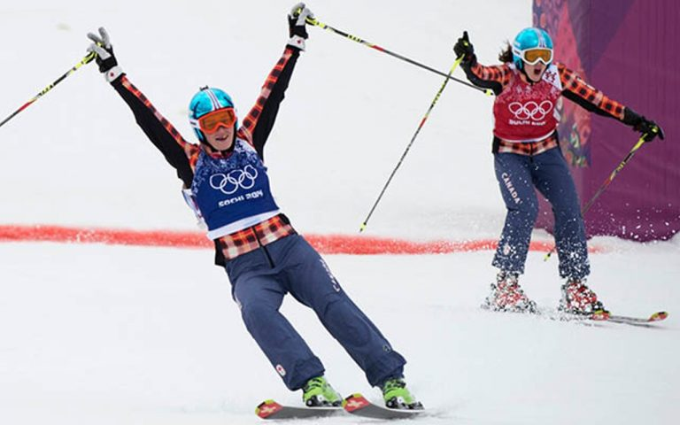Winter Olympics: Marielle Thompson crashes out of women's ski cross heats