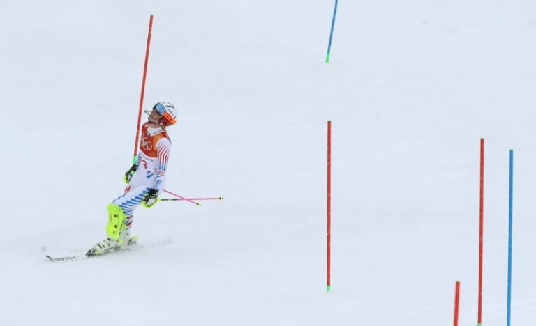 Winter Olympics: Michelle Gisin wins combined gold as Lindsey Vonn fails to finish