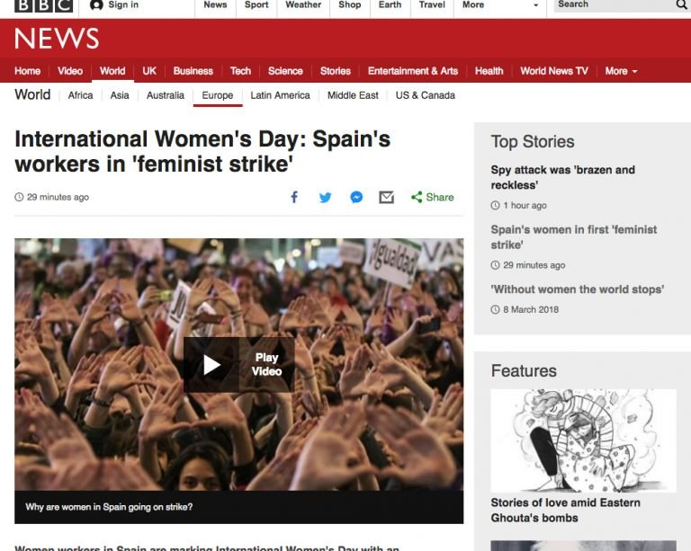 'Without women the world stops'