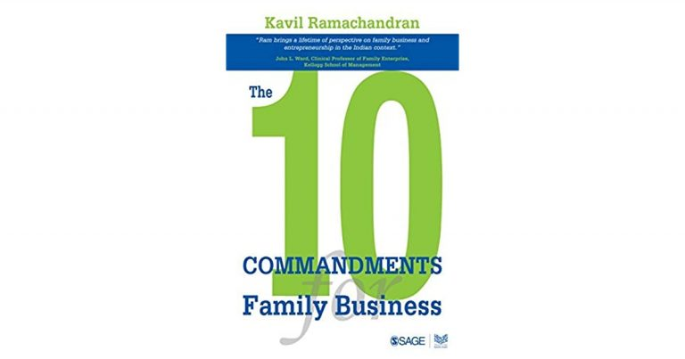 10 commandments of a family business