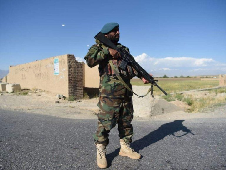 At least 14 members of the Afghan armed forces were killed in a Taliban attack despite the ceasefire