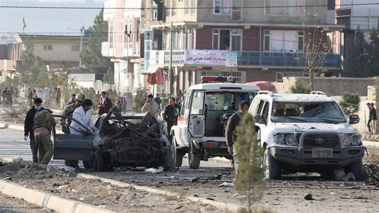 At least five civilians killed in car bomb explosion in eastern Afghanistan