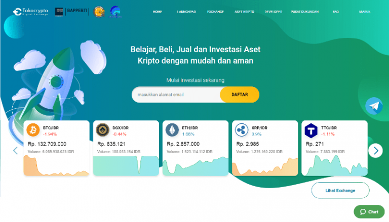 Binance invests in the large Indonesian crypto exchange Tokocrypto