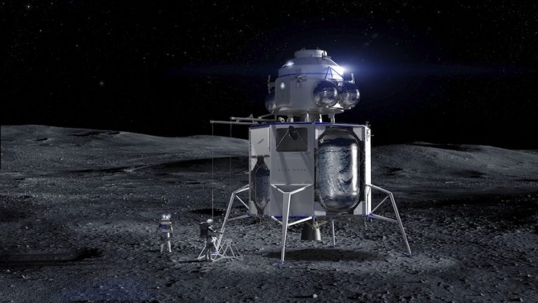Blue Origin and SpaceX receive an order to develop a NASA spacecraft