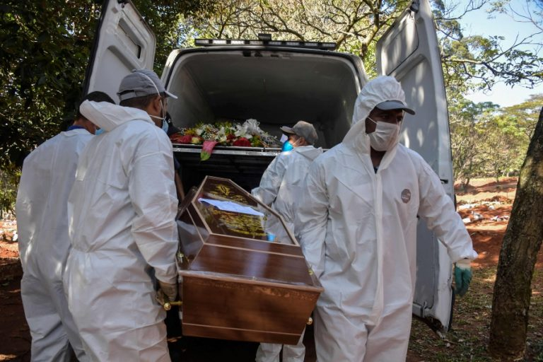 Brazil has a record 1,188 deaths in one day and exceeds 20,000 coronavirus deaths