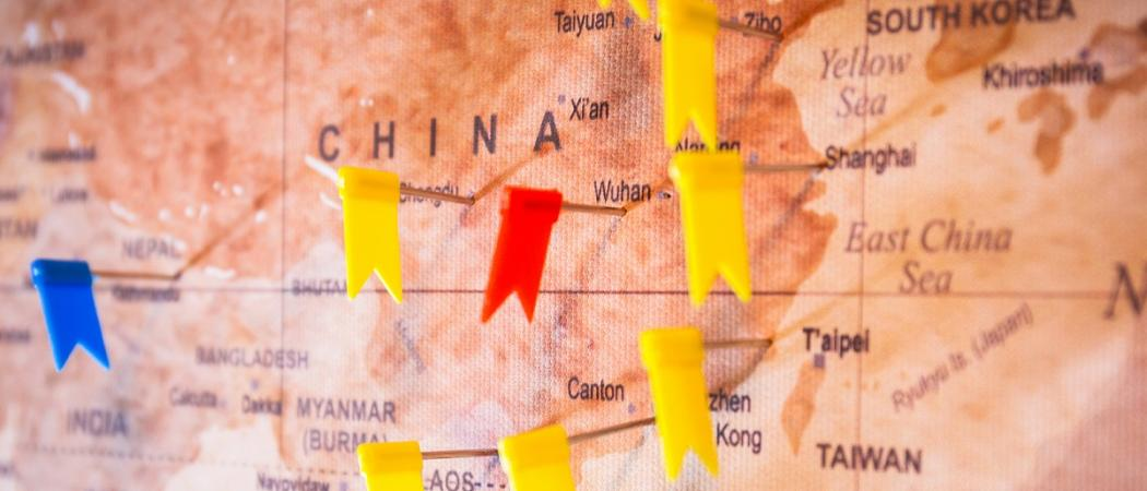 China is not registering new cases of coronavirus for the first time since the pandemic started
