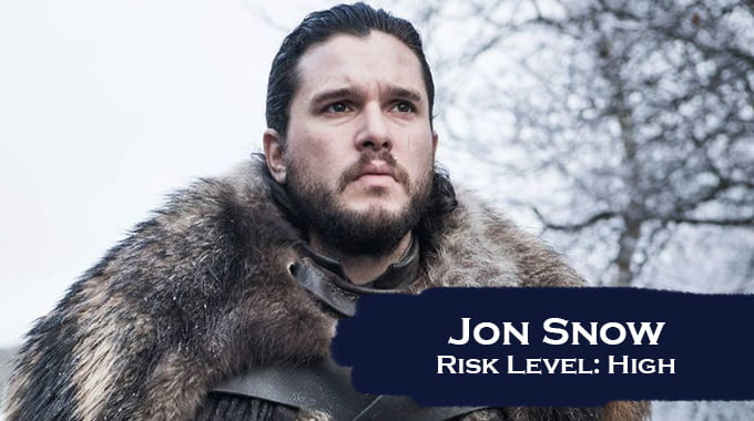 For the kingdom! 10 Game of Thrones characters sorted by life insurance risk