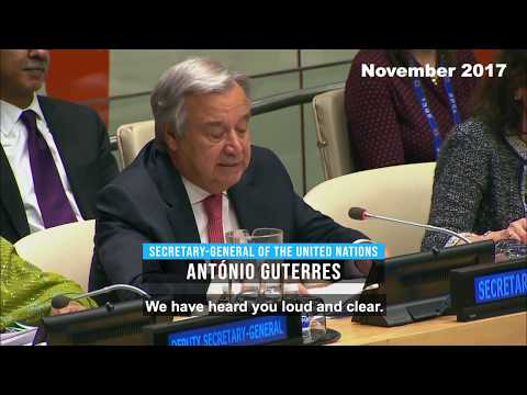 """Guterres points out that the challenge of ending poverty is even more """"necessary"""" and """"urgent"""" after the pandemic"""