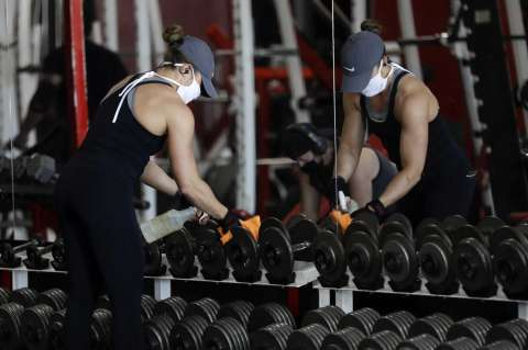 Learn about the measures to reopen gyms in Mexico