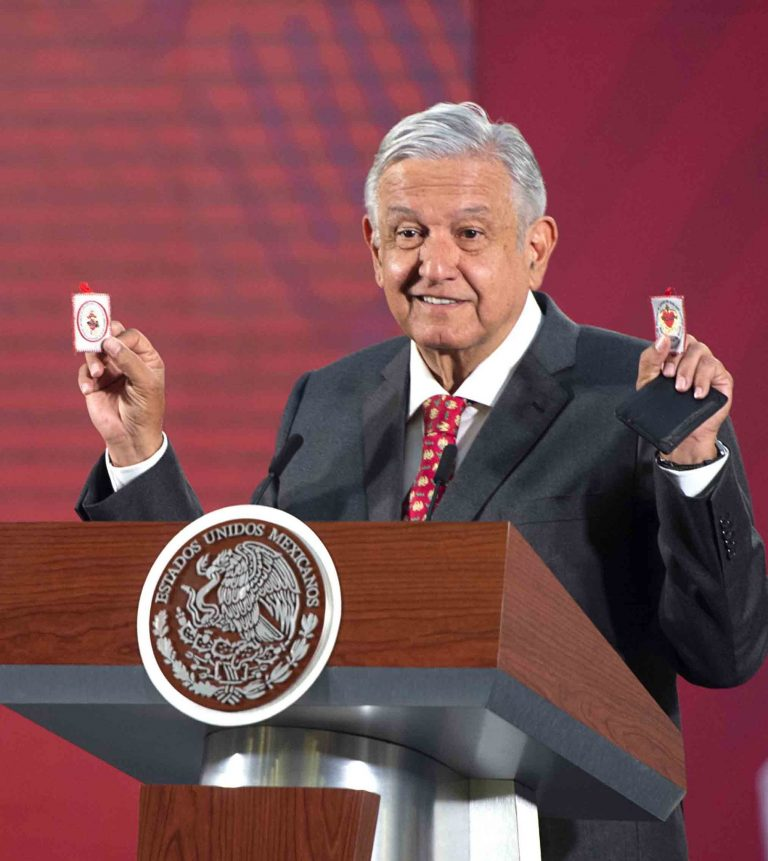López Obrador expects coronavirus infections to decrease in Mexico next week
