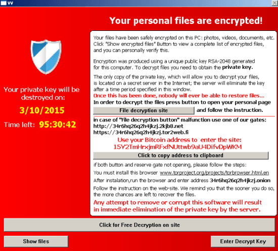 New ransomware threatens to reveal Victoria's secrets