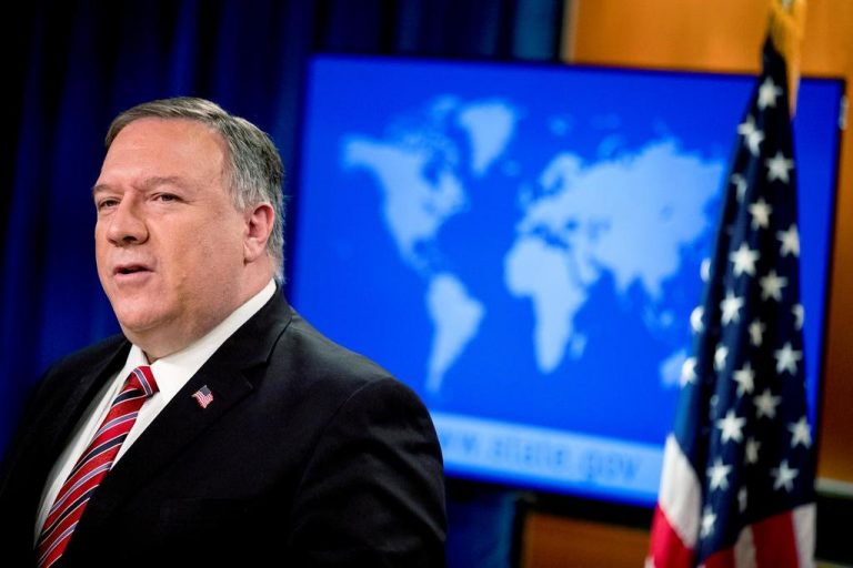 Pompeo warns China of the possible consequences of disability for US journalists in Hong Kong