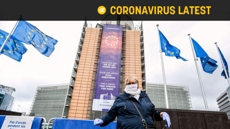 The foreign spokesman for the EU accuses the Russian media of spreading false information about the corona virus