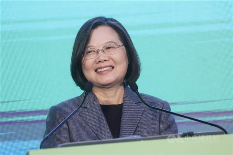 The President of Taiwan begins her second term with the promise that the country will not submit to China again.