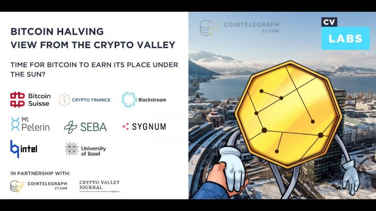 This bitcoin halving is different, and Crypto Valley experts agree