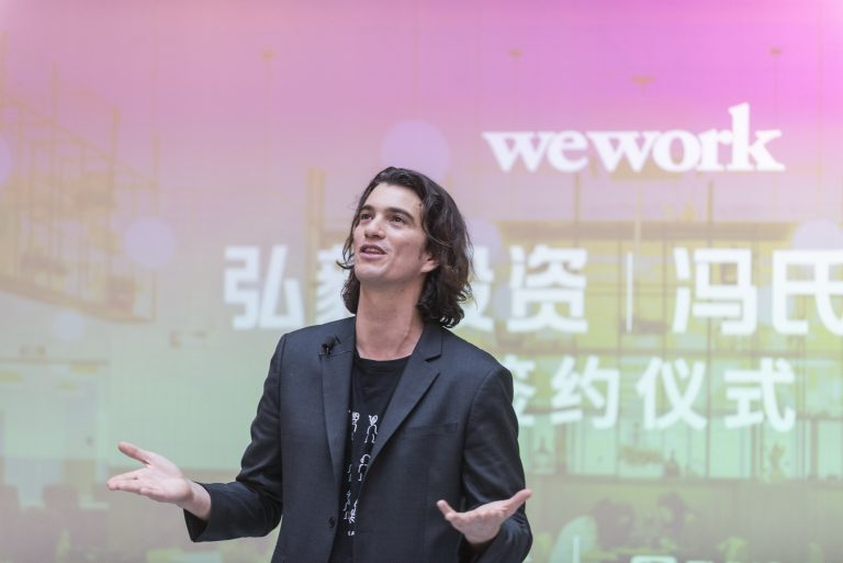 WeWork co-founder charges SoftBank for electricity abuse