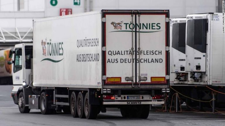 Already more than a thousand positive for coronavirus in slaughterhouse workers in Germany